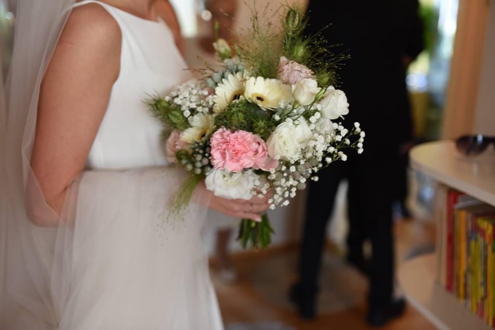 rustic wedding bouqet