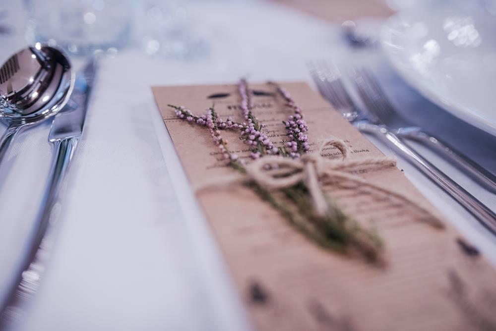eco menu z wrzosami
